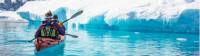 Kayaking the tranquil waters in Antarctica |  <i>Justin Walker</i>